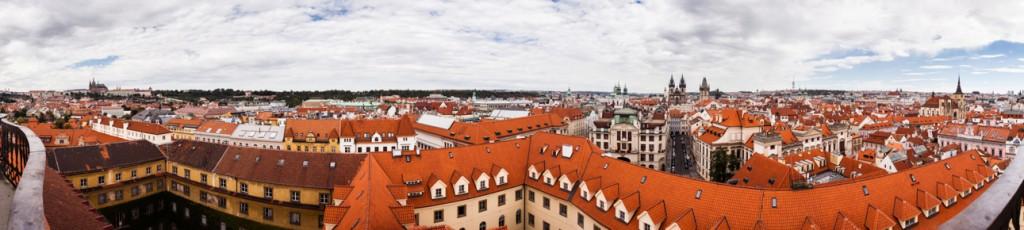 Prag East View