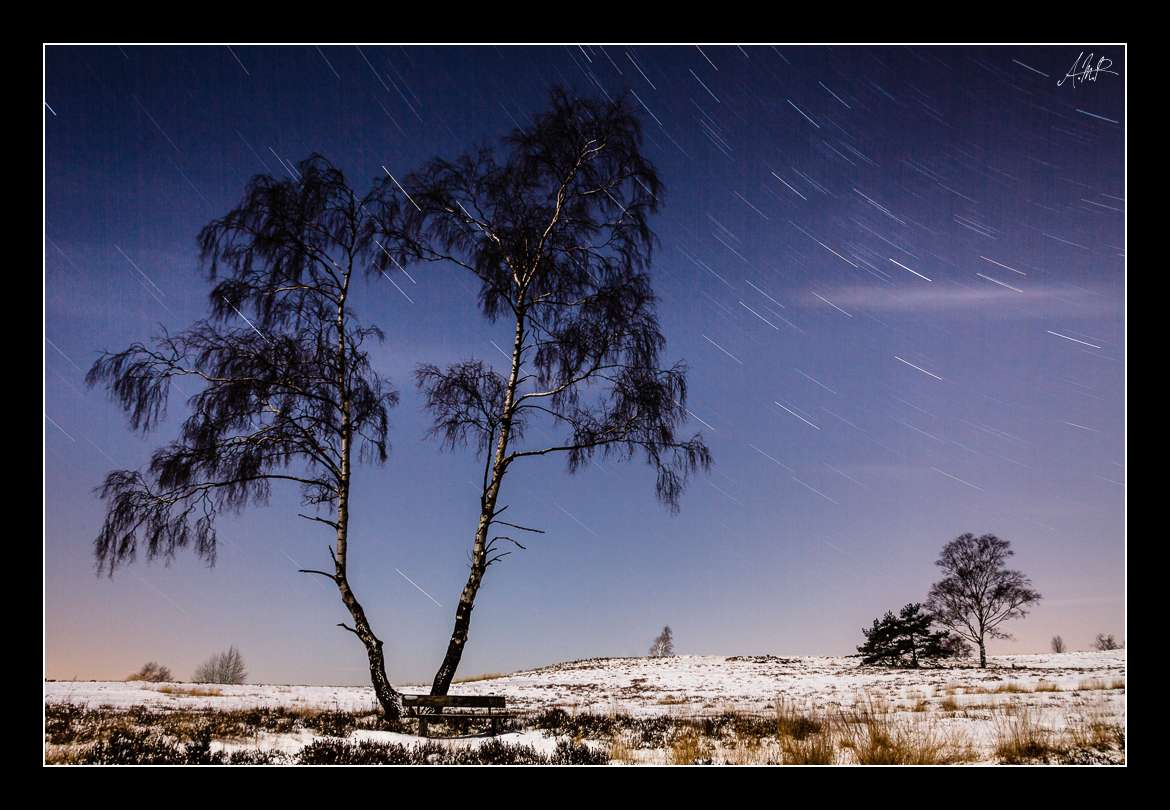 Brunsberg  - Night Shots - StarTrails