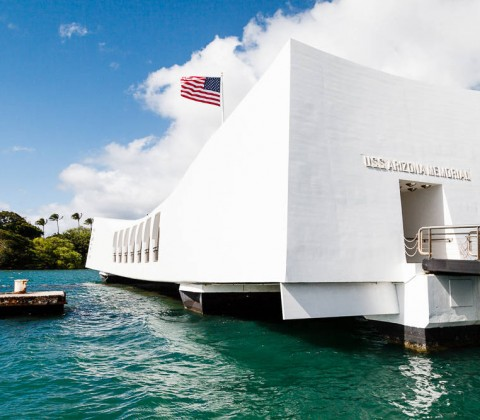 Hawaii, Oahu, Pearl Harbor, USS Arizona Memorial