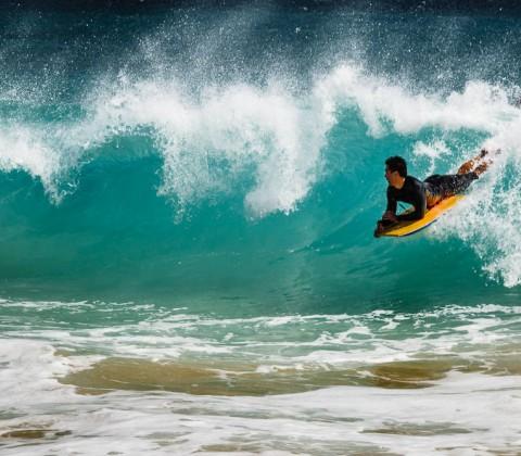 Hawaii, Oahu, Sandy Beach