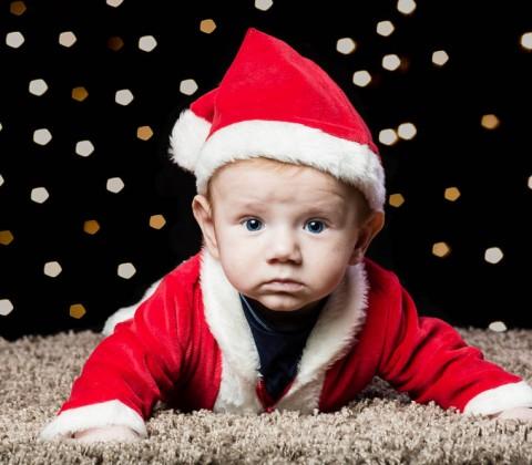 Frohe Weihnachten, Baby, Lichter